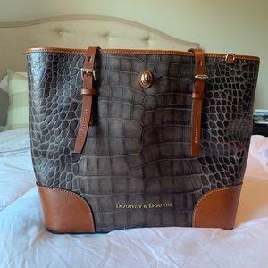 Dooney & Bourke crocodile leather purse